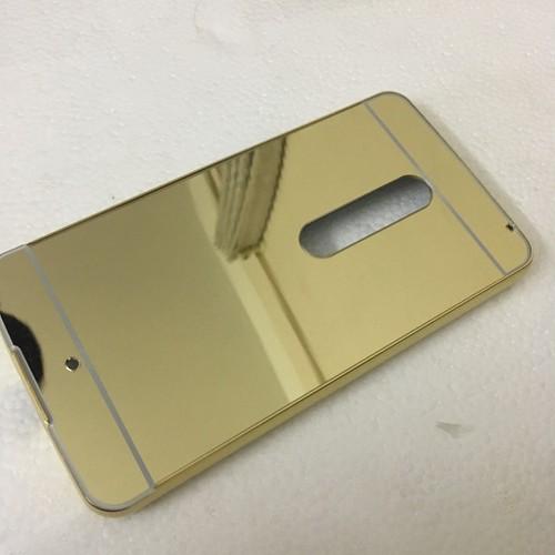 LG-X Power 1 - Ốp lưng điện thoại tráng gương viền kim loại