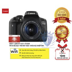 Máy ảnh Canon | Canon 750D