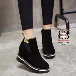 Giày boot nữ cổ ngắn sành điệu siêu xinh