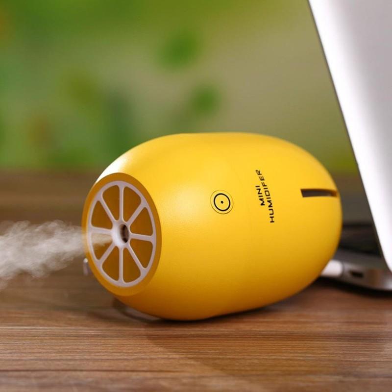 Máy Phun sương Tinh dầu Quả chanh kiêm đèn ngủ Lemon Humidifier 11