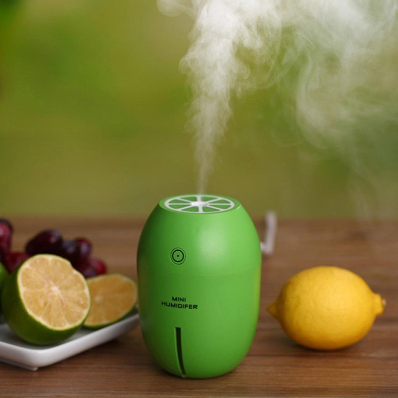 Máy Phun sương Tinh dầu Quả chanh kiêm đèn ngủ Lemon Humidifier 1