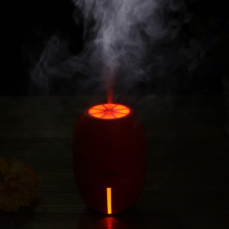 Máy Phun sương Tinh dầu Quả chanh kiêm đèn ngủ Lemon Humidifier 5
