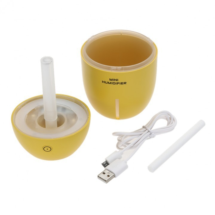 Máy Phun sương Tinh dầu Quả chanh kiêm đèn ngủ Lemon Humidifier 9