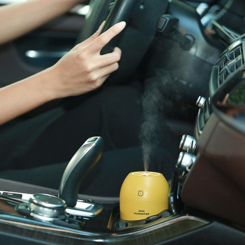 Máy Phun sương Tinh dầu Quả chanh kiêm đèn ngủ Lemon Humidifier 2