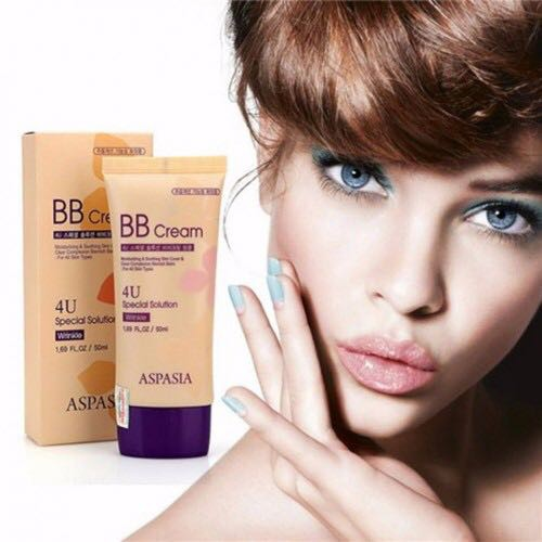 Kem nền BB Cream 4U Special Solution Aspasia HQ 50g