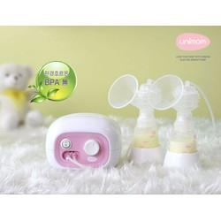 Máy hút sữa điện đôi Hàn Quốc BPA free Unimom