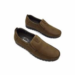 Giày lười da thật nam Cao cấp - Bảo hành 12 tháng