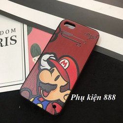 Ốp lưng cứng Iphone 5, 5S Mario hiệu Fashion Case