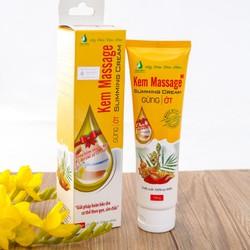 Kem Tan Mỡ Massage Slimming Cream