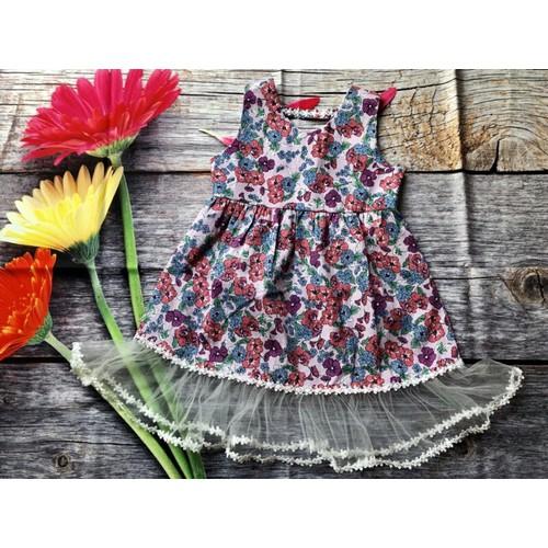 bộ váy kate bông