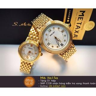 Đồng hồ đôi cao cấp - Đồng hồ đôi Halei cao cấp thumbnail
