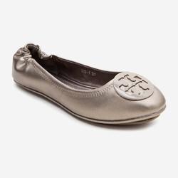 Giày Búp Bê Nữ Phối Khoen Tròn Đơn Giản