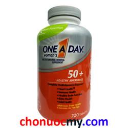 Viên Uống Dành Cho Phụ Nữ Trên 50 Tuổi One A Day Women 50 plus 220v