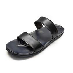 Sandal Nam - Dép Da Nam Da Thật Ensado - 3 Màu - Đen - Nâu - Xanh