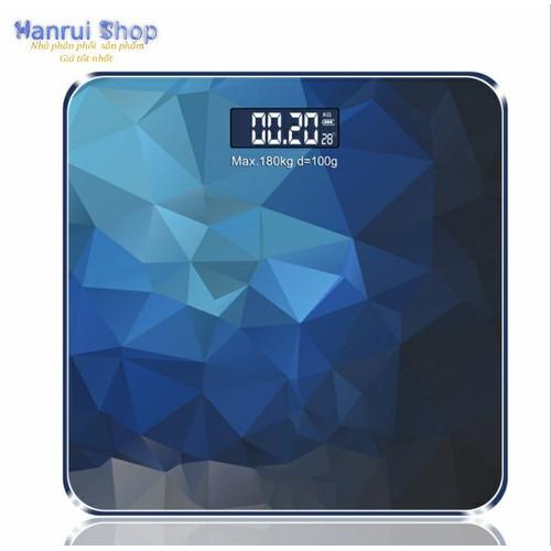 Worldmart cân điện tử sức khỏe và đo nhiệt độ môi trường cao cấp blue diamond