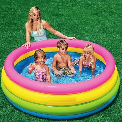 Bể bơi phao cầu vồng 4 tầng 1m68 INTEX 56441 - 5451863 , 9129405 , 15_9129405 , 265000 , Be-boi-phao-cau-vong-4-tang-1m68-INTEX-56441-15_9129405 , sendo.vn , Bể bơi phao cầu vồng 4 tầng 1m68 INTEX 56441