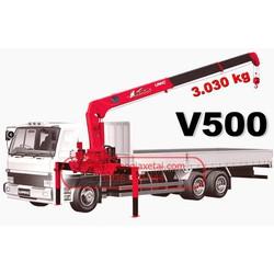Xe tải Hino 6 tấn 4 gắn cẩu 5 tấn giá rẻ