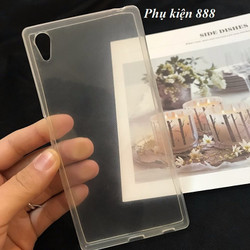 Ốp lưng silicon Sony Xperia Z5 trong suốt