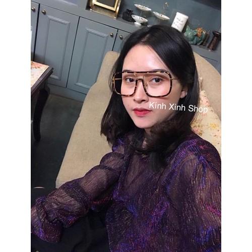 Kính mắt vuông JinJin Oversize - JIN2