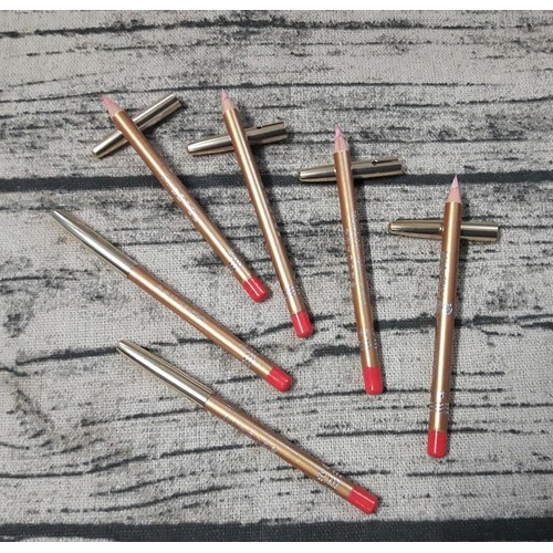 combo 4 cây Chì kẻ môi mini màu hồng xinh xinh