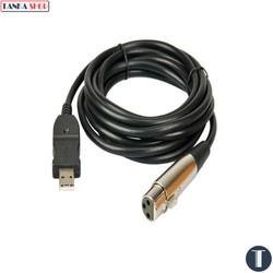 Dây cáp kết nối micro Transhine XLR – USB