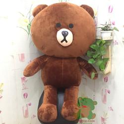 Gấu brown khổ 1m4 khổng lồ - gấu bông khổng lồ - gấu brown khổng lồ