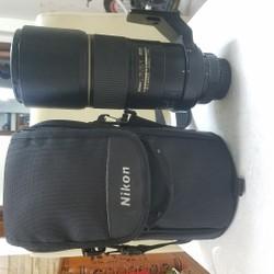 Nikon 300mm af-s f4 like new