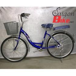 Xe đạp ASM 24 inch xanh dương
