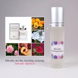 [dạng xịt] Tinh Dầu Nước Hoa Pháp Miss Di.or Blooming Bouquet