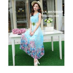 Đầm maxi đẹp mùa hè váy maxi đi biển L12MX01