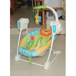 Võng và Ghế rung Fisher Price - Space Saver Swing Seat