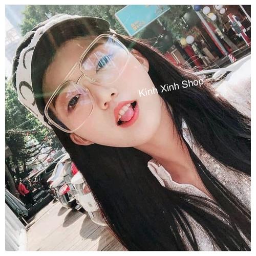 Kính mắt vuông JinJin Oversize - HOT HOT