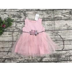 Đầm thuê hoa cho bé gái