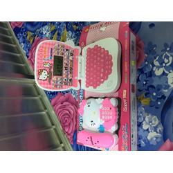 Bộ Đồ Chơi Laptop Điện Thoại Hello Kitty Dành Cho Bé