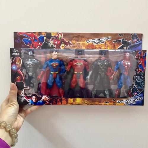 Đang sale Bộ mô hình 5 siêu anh hùng - Đồ Chơi Siêu Nhân mới nhất - chỉ  127.194đ