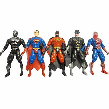 Bộ mô hình 5 siêu anh hùng - Đồ Chơi Siêu Nhân
