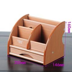 Kệ gỗ đựng văn phòng phẩm đa năng XD - 5036 - Kệ mỹ phẩm