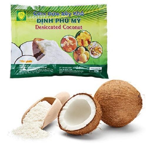 Cơm dừa sấy khô Định Phú Mỹ - loại hạt dài 150g