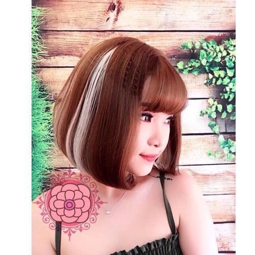 tóc giả cao cấp móc line bạch kim- tặng lưới chùm tóc- hình thật - 4426338 , 8949907 , 15_8949907 , 250000 , toc-gia-cao-cap-moc-line-bach-kim-tang-luoi-chum-toc-hinh-that-15_8949907 , sendo.vn , tóc giả cao cấp móc line bạch kim- tặng lưới chùm tóc- hình thật