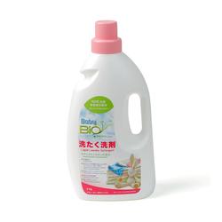 Nước giặt kháng khuẩn 2 in 1 Baby Bio Nhật Bản