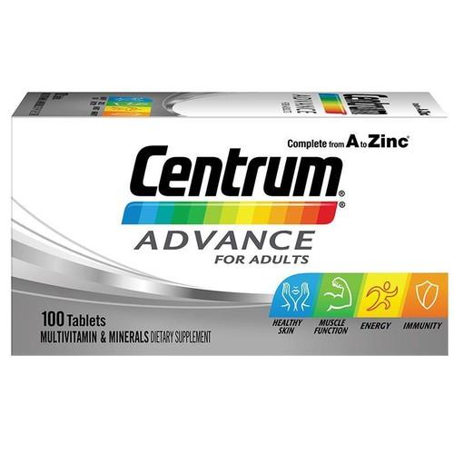 Vitamin tổng hợp cho người lớn CENTRUM ADVANCE 100 viên