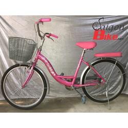Xe đạp ASM 24 inch hồng
