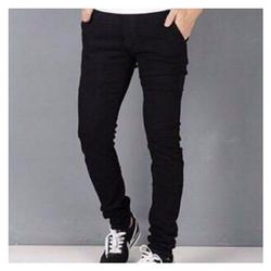quần jean nam đen trơn có cả size đại, co giãn mã số size 28 đến 35