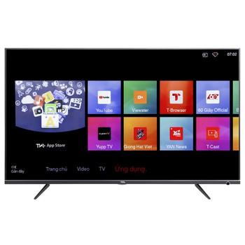 Bảng Giá Smart Tivi LED TCL 4K 43 inch L43P6 Tại CTY TNHH ĐIỆN MÁY TÂN TẠO