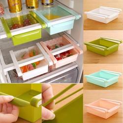 Khay đựng đồ và thực phẩm, để ngăn tủ lạnh hoặc khay bàn, bộ 4 khay