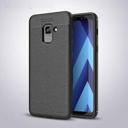 Ốp lưng Galaxy A8 Plus 2018  LT Leather Design Case chống sốc