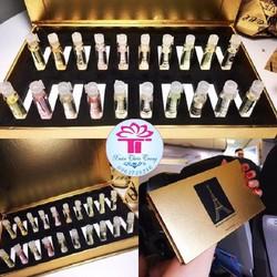 Bộ 20 chai nước hoa chiết Pháp Perfume Essencial Oil