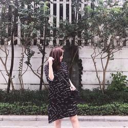 Váy suông chữ màu đen cực đẹp nhé mà chỉ #129k