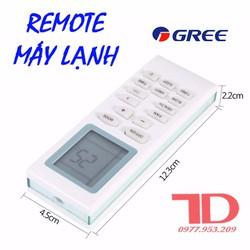 Remote điều hòa GREE