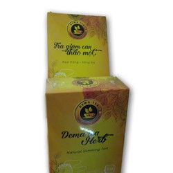 bỏ sỉ 100 hộp trà giảm cân